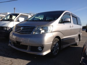 New stock! 2003 TOYOTA ALPHARD!!!