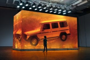 Mercedes G-Class in Amber Cube!!