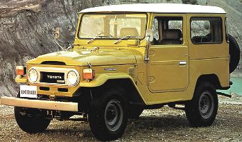 "TOYOTA LAND CRUISER / Histroy of LAND CRUISER : Part2 ""Model 40 and 55,56"""