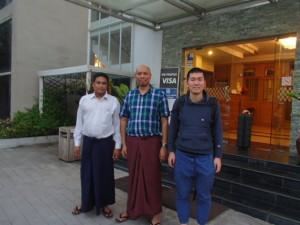 I came to Yangon Myanmar today!