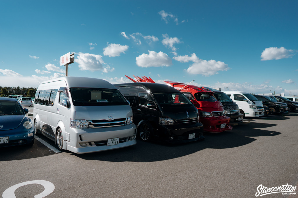 THE PARKING FINDS IN TOKYO AUTO SALON 2017.