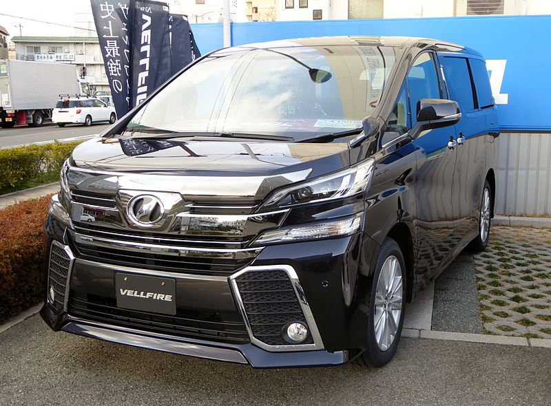 Toyota_VELLFIRE_ZA_(AH30W)_front