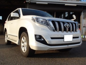 Stock introduction : 2014year TOYOTA LANDCRUISER PRADO