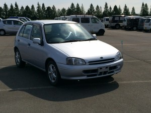 Stock introduction : 1999year TOYOTA STARLET