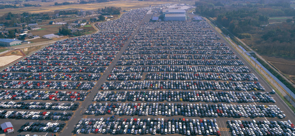 Biggest Used Car Auction Place Uss Tokyo Japanese Used