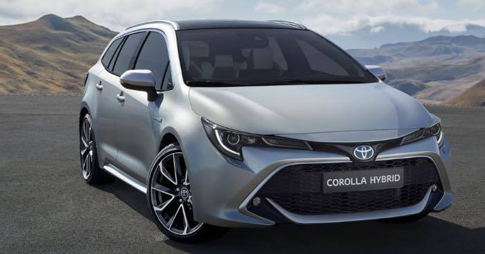 Toyota new model Corolla Fielder