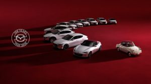 MAZDA  ANNIVERSARY SPECIAL CARS