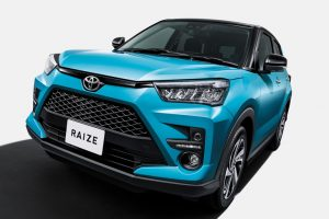"Toyota launches new model ""RAIZE"""
