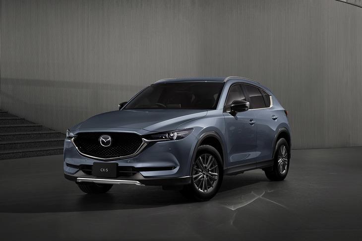 Mazda partially improves CX-5