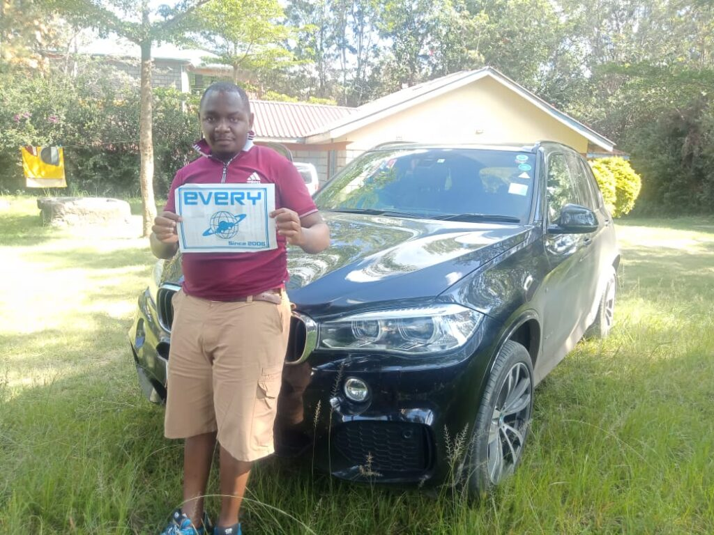 Customer's review from Kenya / BMW X5