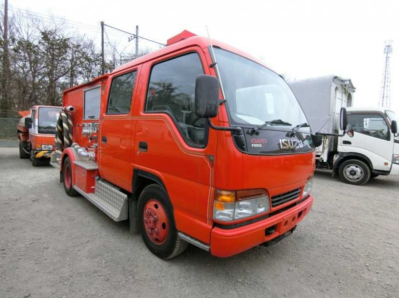 ISUZU ELF FIRE TRUCK 4WD E/G:HG1