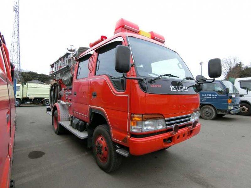 ISUZU ELF FIRE TRUCK 4WD